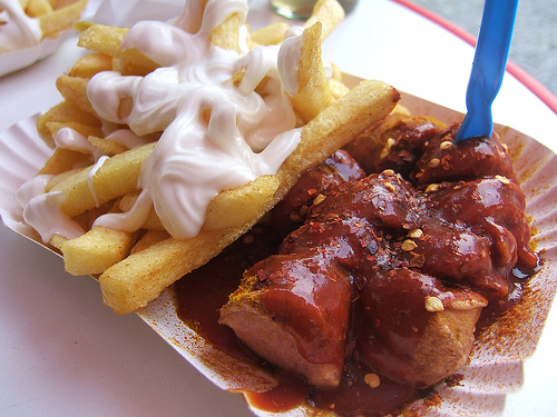 Currywurst fast food