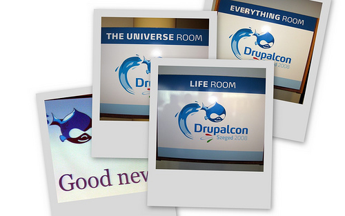 Drupal Logo collage