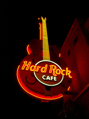 Hard Rock Cafe Hotel Logo
