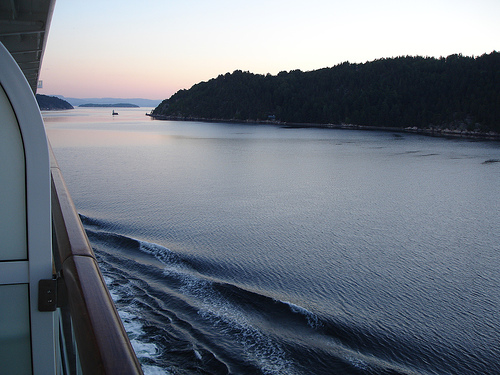 Norwegen Hurtigruten Fjord