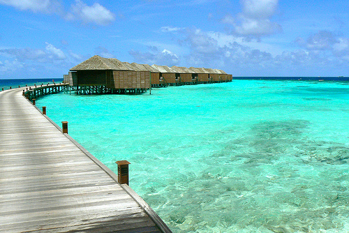 Malediven Overwater Bungalow