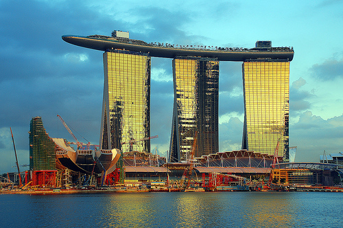 Marina Bay Sands Singapore Singapur