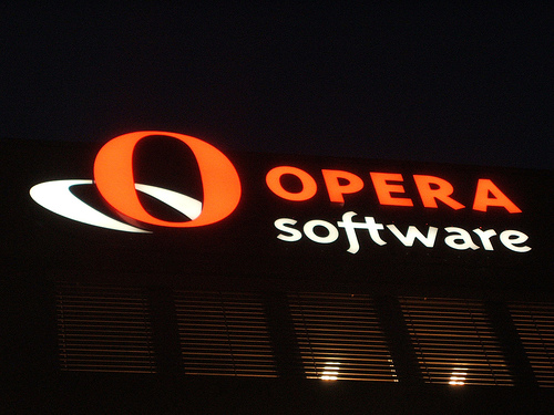 Opera Software browser Norwegen