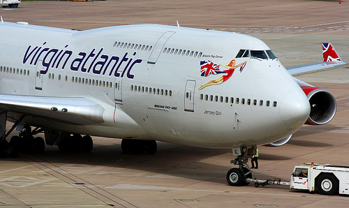 Virgin Atlantic Airline B747