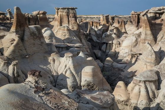 Bisti Wilderness New Mexico